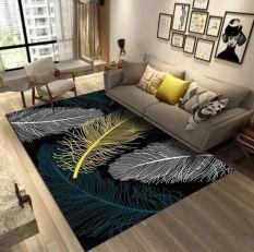 Thảm nỉ BALI trải sàn phòng khách 1m6 x2m mẫu lông vũ mới