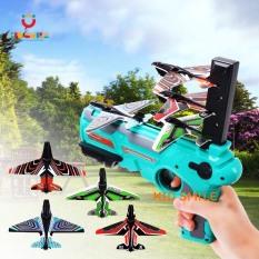 Đồ chơi trẻ em máy bắn máy bay xa từ 3 đến 8 mét ( không dùng pin chơi được lâu dài ) nhựa ABS cao cấp cho trẻ em từ 3 tuổi trở lên