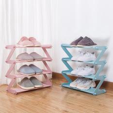 Giá xếp giày dép nhiều tầng tiện lợi, đơn giản và kinh tế; Giá cất đồ bên ngoài cửa phòng; Giá để giày dép đơn giản bằng vải Oxford