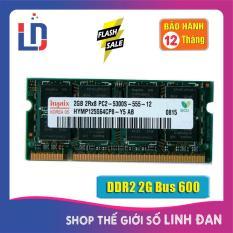 Ram Laptop 2GB DDR2 bus 667/800 PC2-5300S/6400s (nhiều hãng)samsung/hynix/kingston/micron/ crucial/navia/eldipa..