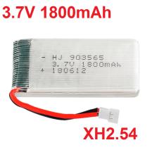 Pin 3.7v 1800mah cho máy bay flycam cổng nối XH2.54 (loại pin to)