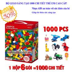 [Loại 1000 Chi Tiết] Đồ Chơi Trẻ Em Xếp Hình LEGO CITY, Đồ Chơi LEGO, Đồ Chơi Xếp Hình, BỘ LEGO SÁNG TẠO 1000 CHI TIẾT, Chất Liệu Nhựa ABS Cao Cấp, Bền, Đẹp, An Toàn, BH 1 đổi 1
