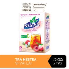 Trà Nestea vị vải & hương hoa lài (12 gói x 12g)
