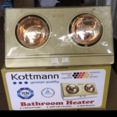 Đèn sưởi nhà tắm – Máy sưởi nhà tắm loại 3 bóng, chống lóa, chống bỏng, chống thấm nước, sản xuất theo công nghệ Đức