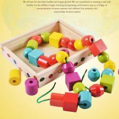 Bộ sâu hạt to giáo cụ Montessori đồ chơi giáo dục