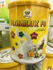 Sữa dê Flomilux F0 (400g) cho trẻ từ 0-12 tháng tuổi. Bổ sung dinh dưỡng cho bữa ăn hàng ngày. Sữa dê nguyên liệu nhập khẩu Hà Lan