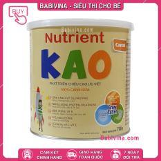 [CHÍNH HÃNG] Sữa Bột Nutrient Kao 700g | Phát Triển Chiều Cao Tối Ưu Cho Trẻ Từ 1-6 Tuổi (KAO – NUTRIENTKAO) | Hãng Eneright Việt Nam | Babivina