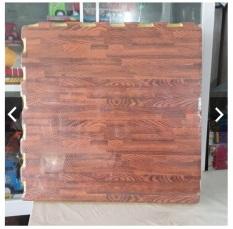 Thảm xốp ghép vân gỗ loại dày (bộ 6 tấm kích thước 60*60cm)
