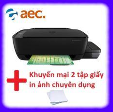 Máy in phun màu đa chức năng HP 415 All In One Wireless (Print copy scan wifi) ( đã bao gồm 4 bình Hàn Quốc chống tắc đầu phun) + Khuyến mãi 2 tập giấy in ảnh