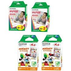 Bộ 02 hộp phim Instax Mini 20 tấm và 02 hộp film Instax MINI MICKEY 10 tấm