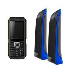 Bộ 1 ĐTDĐ Suntek X5 Plus (Xanh) và 1 Loa Suntek VN-818 (Xanh)