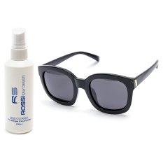 Bộ 1 kính mát nữ và 1 chai nước lau kính PAN CLK318 (Đen)
