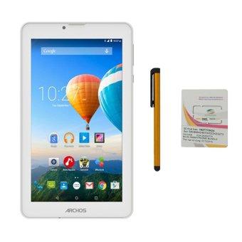Giá Sốc Bộ 1 Máy tính bảng Archos 70c Xenon 8GB 2 Sim (Trắng) + Bút cảm ứng Stylus Touch 1 đầu Pen-x + Sim Viettel