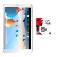 Bộ 1 Máy tính bảng Archos 80c Xenon 16GB 2 Sim (Trắng) + 1 Thẻ nhớ MicroSD 8GB Class 4