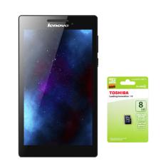 Giá Bộ 1 máy tính bảng Lenovo Tab 2 A7-10 8GB Wifi (Đen) kèm 1 thẻ nhớ MicroSD 8GB Class 4