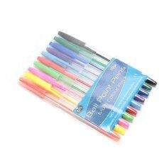 Giá Sốc Bộ 10 bút bi đủ màu UBL SE0047