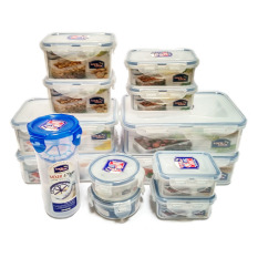 Bộ 13 hộp bảo quản thực phẩm Lock&Lock 13EA HPT824C13