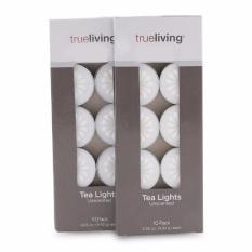 Bộ 20 nến tealight bông mai Trueliving FtraMart EDC-BM10 (Trắng)
