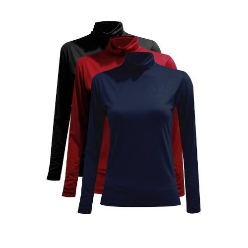 Bộ 3 áo giữ nhiệt cổ ba phân thời trang, ấm áp