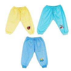 Bộ 3 quần cho bé Babee BB18 (Vàng)
