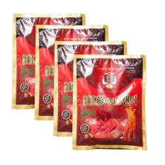 Bộ 4 gói kẹo hồng sâm Vitamin Korea Red Ginseng 200g