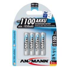 Bộ 4 pin sạc AAA 1100mAh