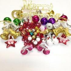 Nơi Bán Bộ 42 sản phẩm trang trí cây thông Noel
