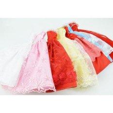 Bộ 5 bộ váy dạ hội xinh xắn cho búp bê 29cm