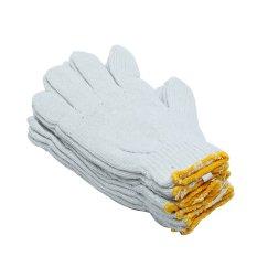 Bộ 5 đôi găng tay lao động cho nam UBL OT0040 (Trắng)