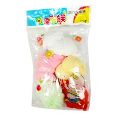 Bộ 5 đôi tất giấy mịn cho bé (từ 3 tháng – 24 tháng) – Phú Đạt