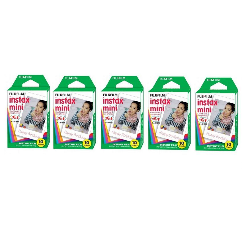 Chỗ bán Bộ 5 hộp phim Fujifilm Instax Mini 10 tấm