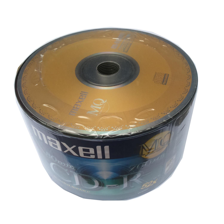 Nên mua Bộ 50 đĩa trắng CD-R Maxell ở QUANG MẠNH PRINTER
