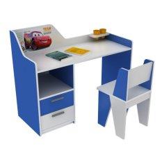 Bộ bàn học Kidslife BH24 (Xanh dương phối trắng)