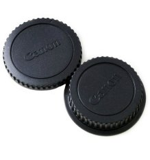 Bộ Body Cap Lens dành cho Canon (Đen)