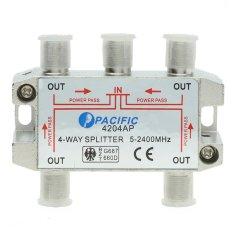 Bộ chia truyền hình cáp Pacific 4204AP (Đỏ)