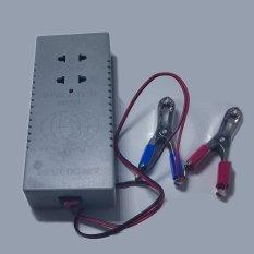 Bộ chuyển đổi nguồn điện 12V thành 220V công suất 40w (xám)
