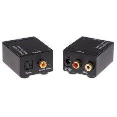 Bộ chuyển đổi Optical Audio to RCA Audio (đen)