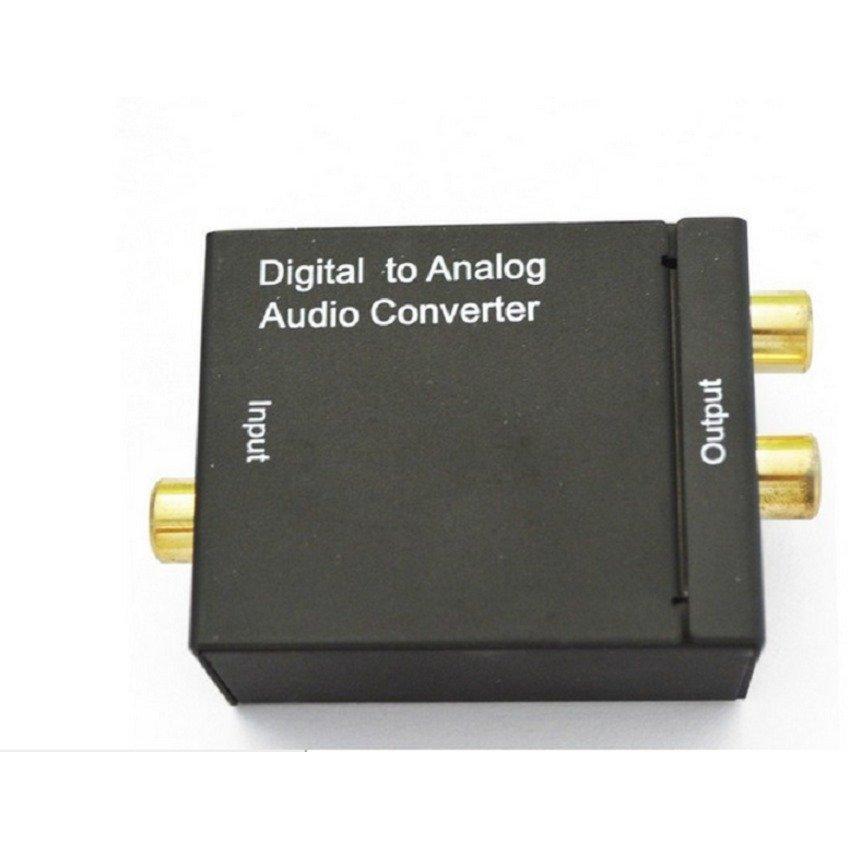 Bộ chuyển đổi tín hiệu Coaxial Optical sang AV RCA R L audio
