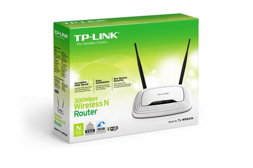 Bộ định tuyến không dây TP-LINK TL-WR841N (Trắng)