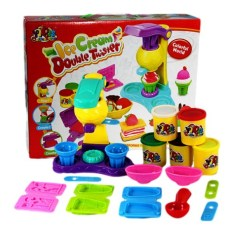Bộ đồ chơi đất sét Ice-cream Double Twister