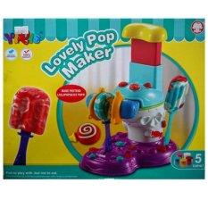 Bộ đồ chơi làm kem lovely popmaker Yiqis 6858-B
