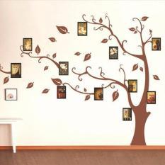 Bộ 11 khung ảnh treo tường trang trí nhà cửa Tâm house 633 ( kèm decal)