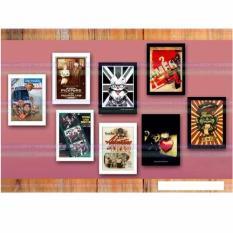 Bộ 8 khung ảnh treo tường trang trí nhà cửa Tâm house 636
