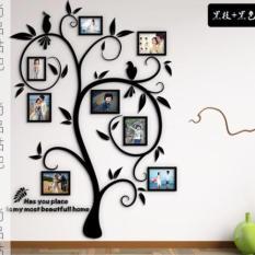 Bộ 8 khung ảnh treo tường trang trí nhà cửa Tâm house 648 ( kèm decal )