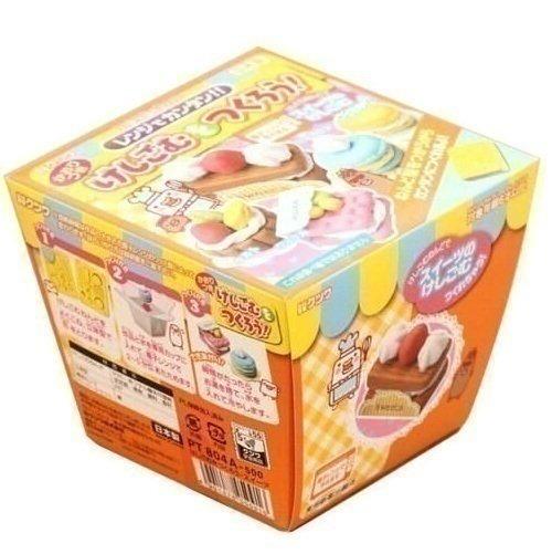 Bộ làm tẩy hình bánh quy Kutsuwa - Sweets Shaped Erasers