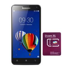 Bộ Lenovo S580 8GB 2SIM (Đen) + 1 SIM Dcom 3G Viettel