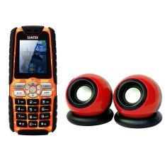 Bộ Suntek A8 Plus (Cam) + Loa Suntek IF-10 (Đỏ)