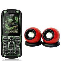 Bộ Suntek A8 Plus (Rằn ri) + Loa Suntek IF-10 (Đỏ)
