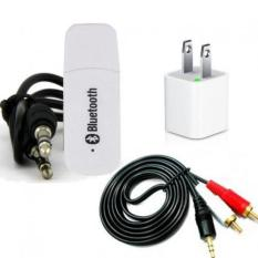 Bộ USB thu bluetooth Music Receiver (Trắng)