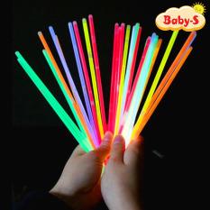 Set 10 que vòng tay phát sáng dạ quang đủ màu sắc rực rỡ vừa làm vòng tay vừa làm đồ chơi sáng tạo cho bé Baby-S – SDC025